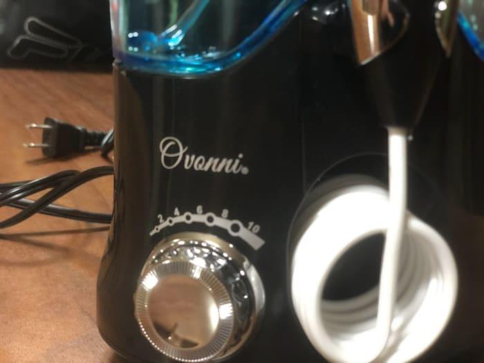 Ovonniの口腔洗浄器の使用レビュー!歯に噴射してみる。