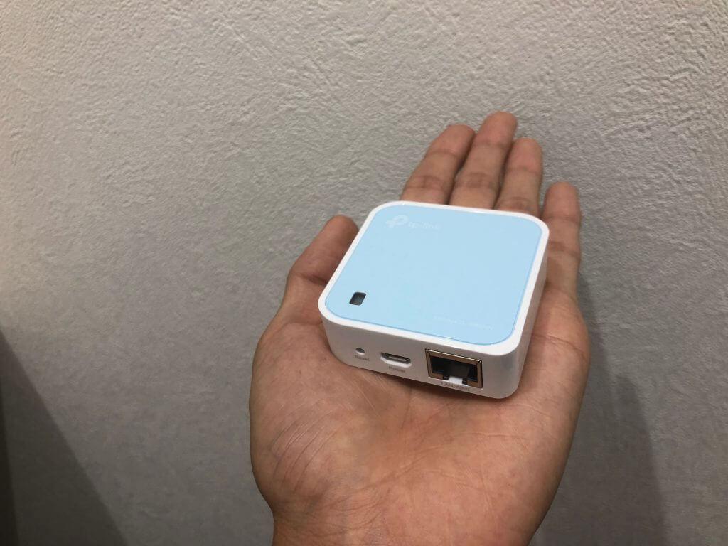 無線LANルーター(Wi-Fiルーター)「TL-WR802N」は安い・軽い・簡単!
