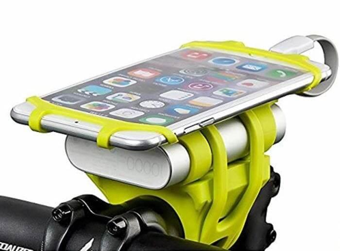 世界で認められたデザイン!モバイルバッテリーも一緒に固定できるNet Freedomのスマホホルダー!